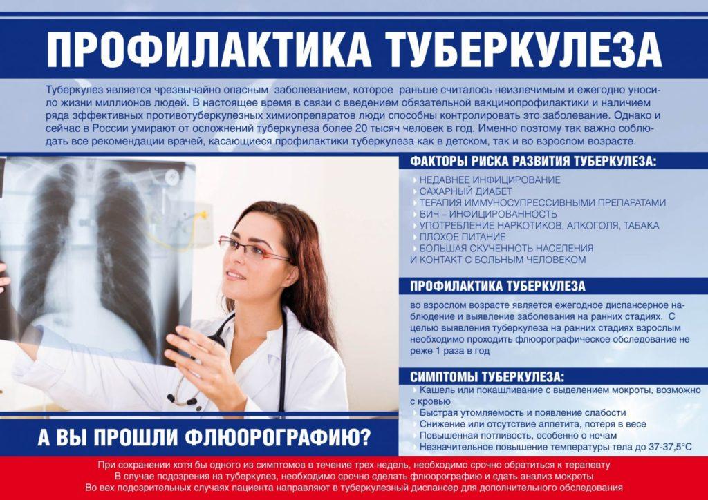 Защити себя от туберкулёза!