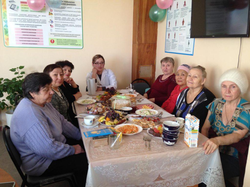 День пожилых людей в нашей поликлинике