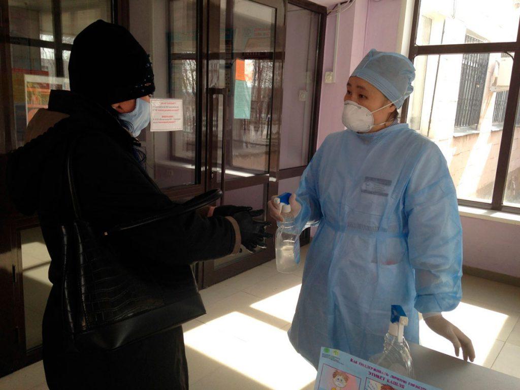 Усиленные меры профилактики в поликлинике